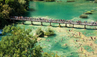 From Makarska Riviera to the seven waterfalls of Krka River/Zadar